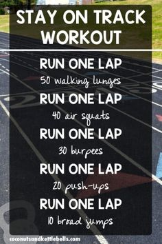 Stay On Track Workout
