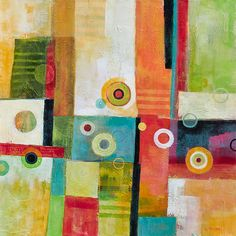 Skedaddle by Glenys Porter: Acrylic Painting available at www.artfulhome.com