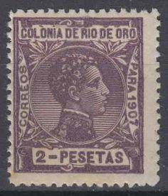 RIO DE ORO (1907) - KING ALFONSO XIII