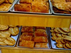Pan dulce:  There are over 300 varieties of sweet bread made in Mexico!