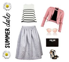 silver dust III by zipit21 on Polyvore featuring moda, Cardigan, FRACOMINA and Givenchy