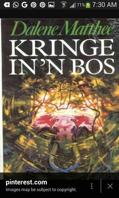 Kringe in 'n bos (Circles in a Forest) by Dalene Matthee. Best book written in Afrikaans. One of many South African calssics Books To Read, My Books, I Never Lose, Those Were The Days, My Childhood Memories, African History, Look At You, Love Reading, You Funny