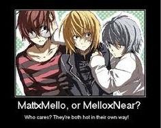 Matt, Mello and Near