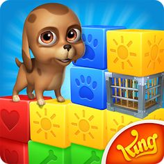 Pet Rescue Saga, from the makers of Candy Crush Saga & Farm Heroes Saga! Match two or more blocks of the same color to clear the level and save the pets from the evil Pet Snatchers! Moves are limited so plan them carefully. Your puzzle skills will be tested with hours of block busting fun! Take