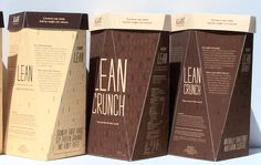 Kashi Lean Cereal Line Packaging Design by Patrick McKeever Nice inspiration for package design ideas Cereal Packaging, Food Packaging, Packaging Ideas, Innovative Packaging, Packaging Design Inspiration, Design Ideas, Work On Yourself, Innovation, Knowledge