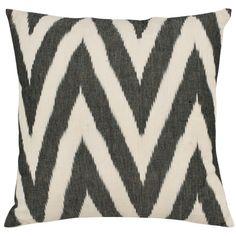 Black & White Chevron Pillow