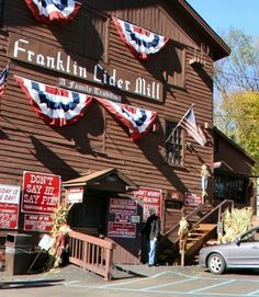 Franklin cider mill. Will make sure I take my baby! Mom use to take us to the cider mill on saturdays in the fall.  Great memories.