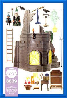 playmobil wizards , i've still got all of my playmobil Macaron Tower, Casa Viking, Diy Lego, Playmobil Sets, Toy Castle, Paw Patrol Toys, Deco Nature, Tiny World, Childhood Memories