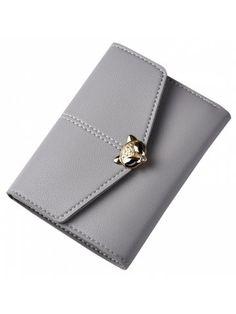 Women's new wallet three fold fashion multi-card bit money purse