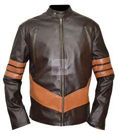 X-Men Wolverine Origin Xo Logan Hugh #Jackman Leather #Jacket For Men movie #XMen Wolverine Origin Series Of Marvel production X-men in which Hugh Jackman #bikers #lovers #Style #Friends #fashions #Amazing #collections