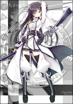 Mui Alba   Mahou Sensou/Magical Warfare #anime