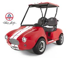 Shelby Cobra Golf Car