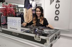 DJ Carol C performs in the store during the unveiling of the Lord & Taylor NYC 2016 Holiday Windows with Daya on November 10, 2016 in New York City.