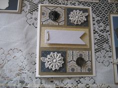 Bohemian Lace Package and pemberly paper from CTMH