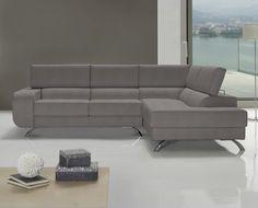 Sofa rinconera de tela Denes de HOME