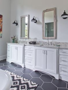 From a new surface to simple decorative touches, try these clever, budget-friendly countertop tips from designers and DIYers.