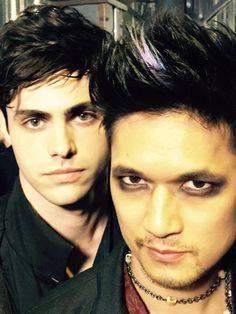 Malec, Our first picture of this awesome couple in #Shadowhunters, shipper heart be still..