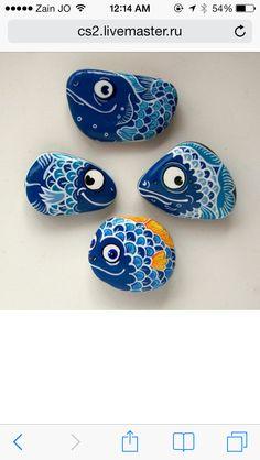 Stone diy fish