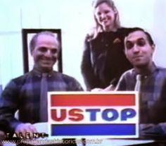"""Campanha """"Bonita camisa, Fernandinho"""" da USTOP. Criação da agência Talent, 1984."""