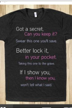 Pretty little liars T-shirt. @Scott DeLeal you need this.. actually I need this, and you need your version.