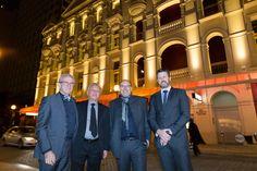 Philip Griffiths – AIA President (WA Chapter), Gerry de Wind, Martin Klassen (KLD) Darren Marshall Photography: Ron Tan