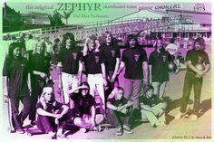 Zephyr Skateboard Team circa 1975