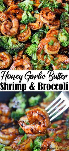 Shrimp Recipes For Dinner, Shrimp Recipes Easy, Seafood Dinner, Gourmet Recipes, Cooking Recipes, Chicken Recipes, Gourmet Meals, Easy Healthy Shrimp Recipe, Food With Shrimp