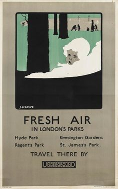 Remember the Roaring Twenties, when the future looked like Metropolis and cities were going to become battalions of marching skyscrapers? In these colorful 1920s ads for the London Underground, trains never felt so much like the transport of tomorrow.