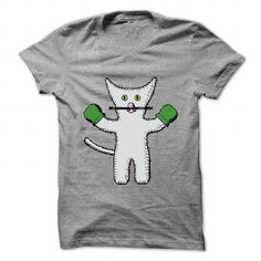 I Love Kitten with mittens clip art Shirts & Tees