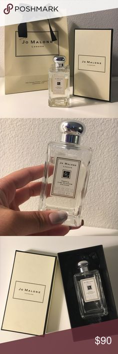 Jo Malone Perfume Slightly used but ended up not liking it. Has the box & the bag. Smell is French Lime Blossom Cologne . Jo Malone Other