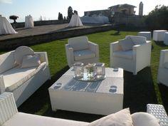 White Fusion Garden  or lounge furniture / Arredamento lounge o da giardino Fusion Bianco #guidilenci All Rights Reserved GUIDI LENCI www.guidilenci.com