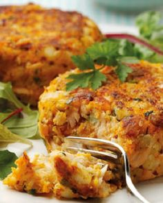 Low FODMAP Recipe and Gluten Free Recipe - Salmon & lemon fish cakes