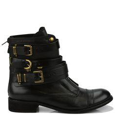 Bota com fivelas Santa Lolla (R$450) All About Shoes, Biker Boots, Online Boutiques, Hair Makeup, Casual, Top, Life, Outfits, Shopping