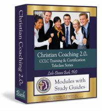 Professional Christian Life Coach training - Highly esteemed, recognized certification. Biblical, practical foundational course for practice or ministry.