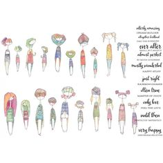 I WANT IT ALL Danielle Donaldson collection (includes all 10 stamps!)