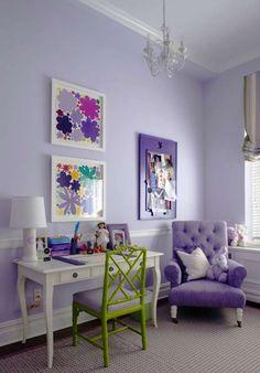 Idee per arredare la camera da letto con il color lavanda (Foto 29/40)   Designmag