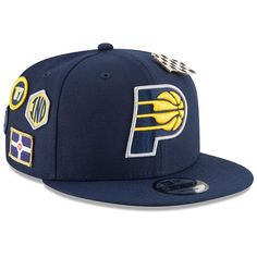 new arrivals 83587 69d29 Indiana Pacers New Era 2018 Draft 9FIFTY Adjustable Hat – Navy