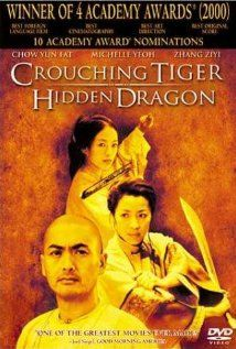 Ahh Crouching Tiger Hidden Dragon. I love Michelle Yeoh and Ziyi is so pretty. Their fight scene was bad.