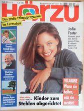 HÖRZU 20-1994  TV: 21.- 27.5. Jodie Foster Boris Becker Bud Spencer Terence Hill