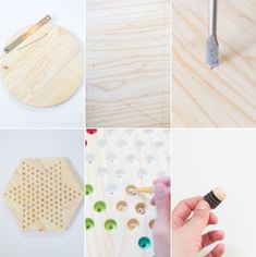 DIY Chinese Checkers Game | lovelyindeed.com