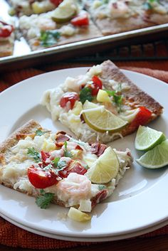 Tequila Lime Pizza