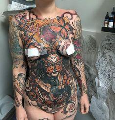 Tattoo by Jake Danielson