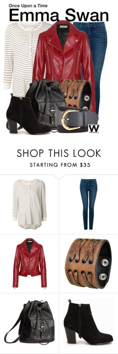 """""""Once Upon a Time"""" by wearwhatyouwatch ❤ liked on Polyvore featuring The Great, NYDJ, Balenciaga, Nemesis, H&M, Nly Shoes, Lauren Ralph Lauren, women's clothing, women's fashion and women"""