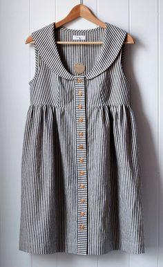 Inspiration for possible men's shirt refashion? Wiksten: shop update tonight