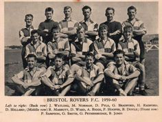 Bristol Rovers team group in Back Row, Front Row, Bristol Rovers Fc, The Pirates, Team Pictures, Exeter, Cardiff, Bradford, Couple Goals