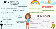 Useful Phrases Describing the Weather in English 3