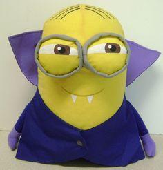 "Despicable Me Vampire Minion 14"" Plush Toy Minions Illumination The Toy Factory #MinionIlluminationTheToyFactory"