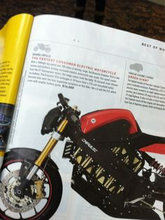 "Brammo in Popular Science. Brammo Inc. landed one of Popular Science's 100 ""Best of What's New"" awards for 2011 for its Empulse electric sport motorcycle"