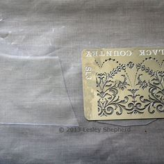 """Turn Recycled Plastic Packaging Into Embossed Plastic For Dollhouse Windows: Choose Packaging Plastic To Make """"Embossed"""" or """"Etched Glass"""" in Miniature"""