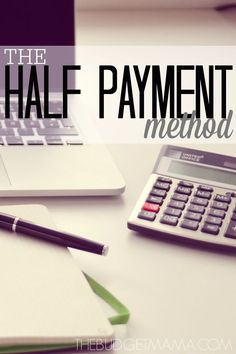 The half payment method is an easy way to stop living paycheck to paycheck to gain better control of your budget. Try it this month!